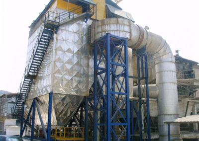 Cement factory dust filter