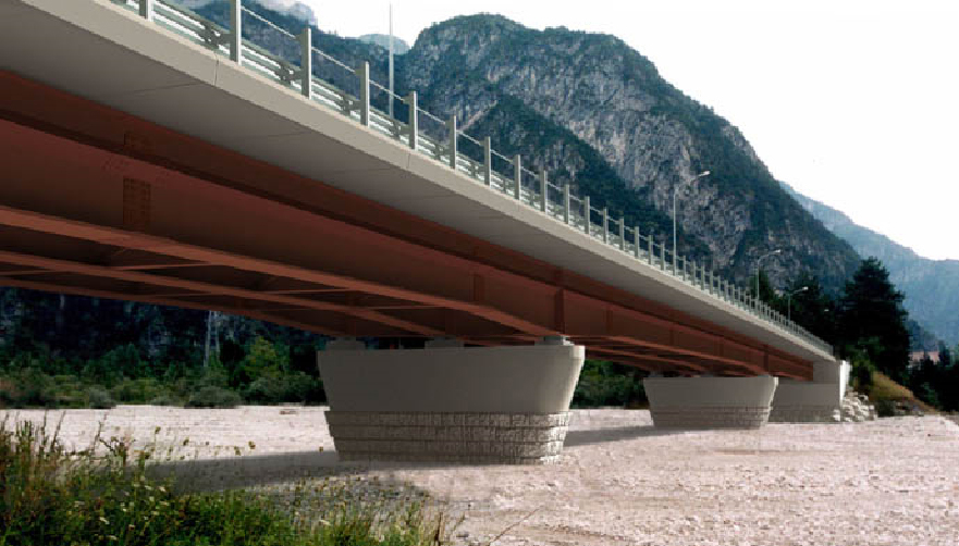 Metallic Beam bridges