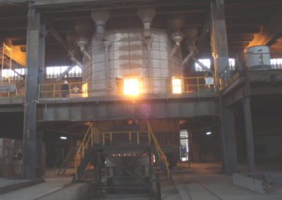 Production of Fe Cr melting Furnace & production EAF furnace lower shell
